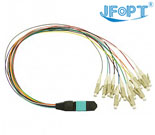 MTP-LC Fanout 12C Fiber Optic Patch Cords